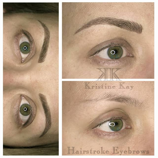 Microblading Brows Kristine Kay Skin Spa