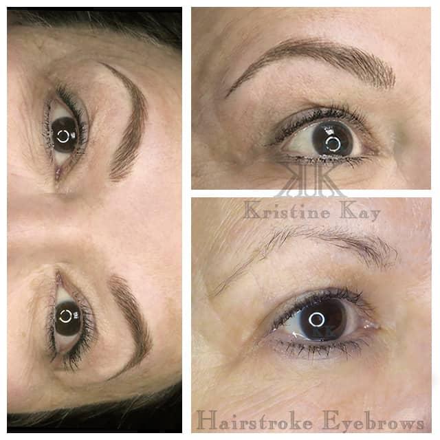 permanent makeup microblading eyebrows kansas city